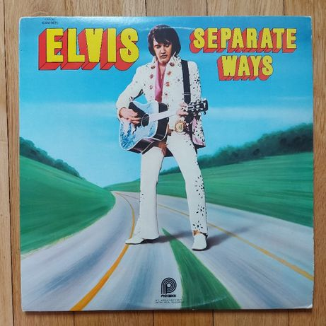 Elvis Presley, Separate Ways, USA, 1975, bdb+