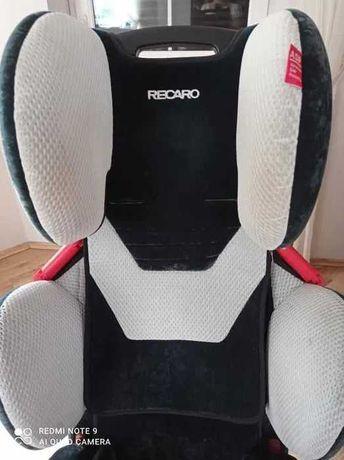 Bezpieczny fotelik samochodowy RECARO YOUNG SPORT 9-36kg