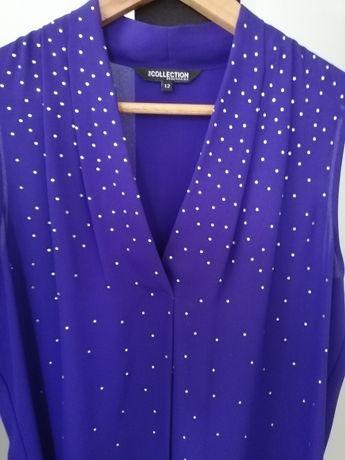 Bluzeczka fioletowa xl