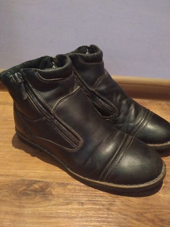 Ботинки шкіряні 38розмір