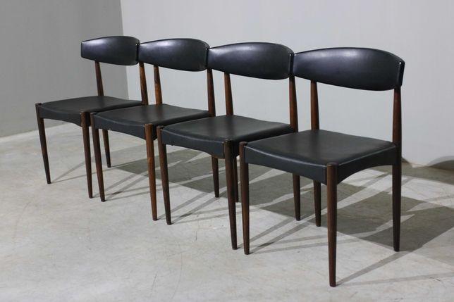 Cadeiras dinamarquesas em pau santo   Vintage