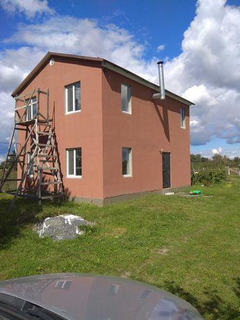 Продам новый дом, два этажа,с.Леточки