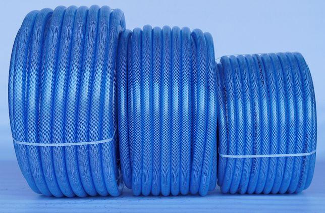 Wąż techniczny zbrojony igielitowy 8 rolka 25m