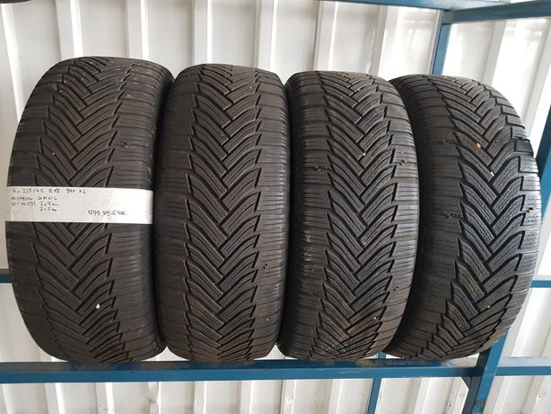 Opony zimowe używane 225/45 R17 94V XL Michelin - 4 szt.