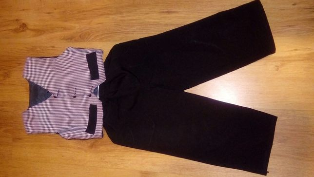 Spodnie + kamizelka