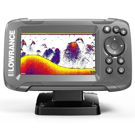 Эхолот Lowrance Hook2-4x GPS, Бесплатная доставка, Официальная гаранти