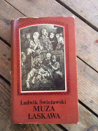 """Książka """"Muza łaskawa"""" Ludwik Świeżawski"""