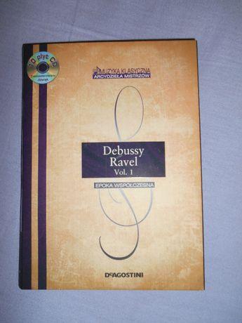 10 CD Debussy, Ravel Vol. 1 Arcydzieła Mistrzów De Agostini