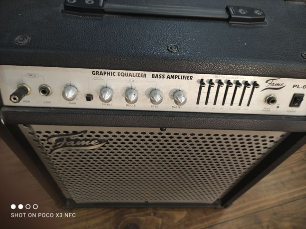 Amplificador Fame PL-60B