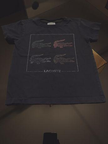 T-shirt lacoste 4 anos original