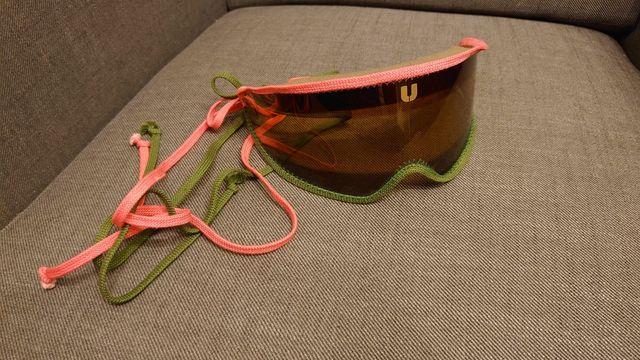 Okulary na narty wiązane gogle