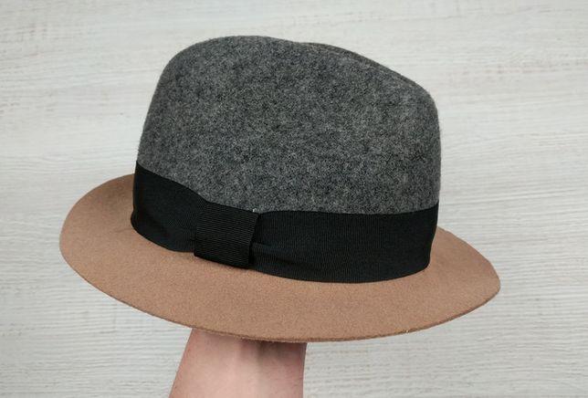 Marks Spencer Шляпа 100%wool stetson christys Супер ткань harris tweed