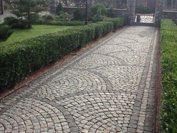 Укладка тротуарной, клинкерной плитки, асфальтирование.