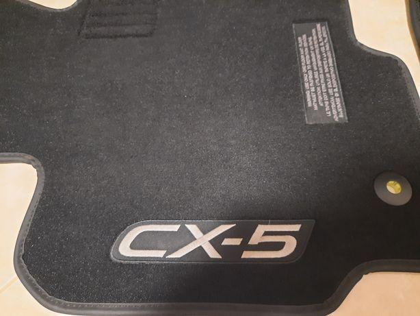Dywaniki welurowe Mazda CX5 ORGINAŁ