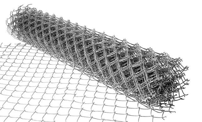 Porządna siatka ogrodzeniowa ocynkowana h=1,5 fi2,5mm oczko 65x65
