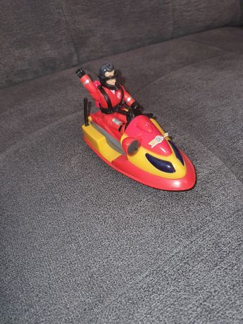 Motorówka Starazak Sam z figurka