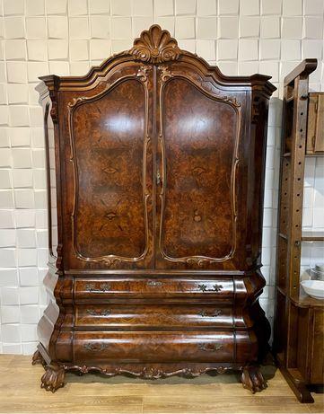 Шкаф антикварный старинный барокко