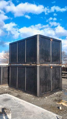 szambo betonowe zbiornik betonowy szczelny montaż producent 12 10