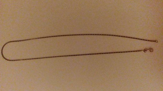 Srebrny łańcuszek z cyrkoniami pr.925