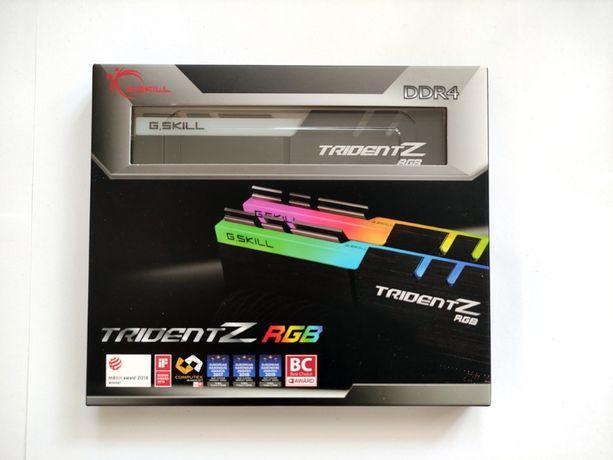 DDR4 G.SKILL TridentZ RGb 32GB(2x16GB) F4-3600C16D-32GTZR b-die