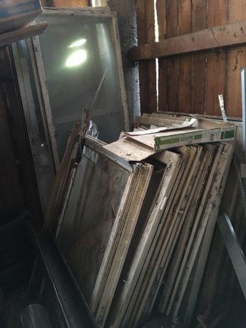 Oddam stare okna drewniane szyby w calosci!
