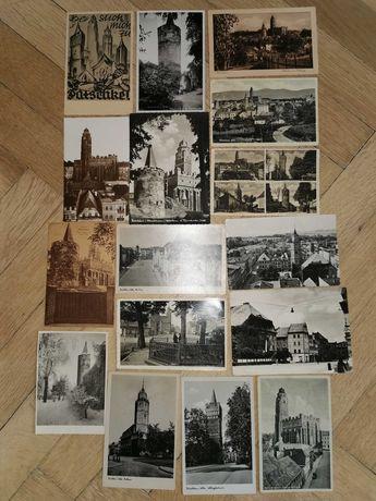 Paczków - Patschkau - stare pocztówki - kartki przedwojenne - kolekcja