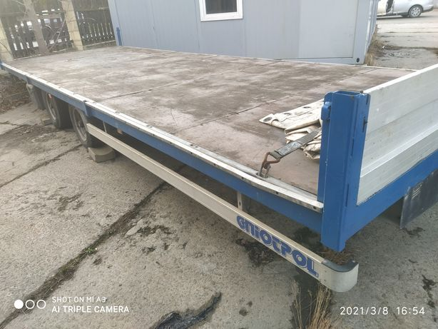 Przyczepa ciężarowa długość 7,5m - ład.2180kg