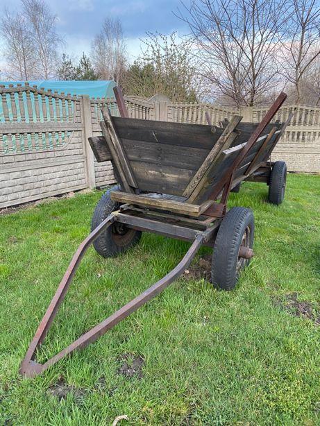 Przyczepa wóz pod traktor