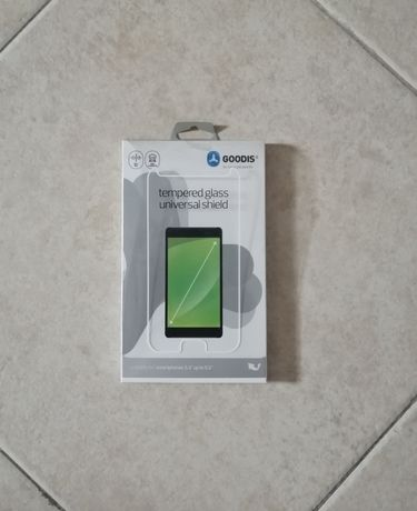 """Proteção de vidro para telemóveis até 5.5"""""""
