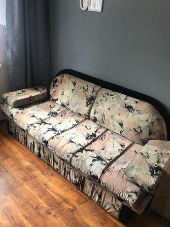 Sofa rozkładana + 2 fotele
