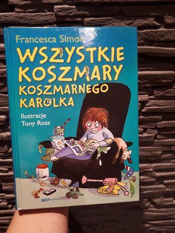 """Książka: """"Wszystkie koszmary koszmarnego Karolka:"""