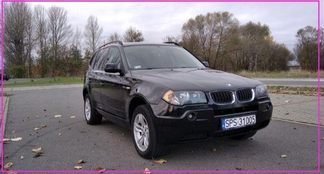 BMW X3 e83 2.0d  4x4 polecam