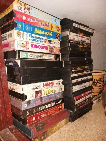 Кассеты видео и dvd
