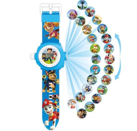 Relógio Patrulha Pata, Elsa, Princesas e Spyderman