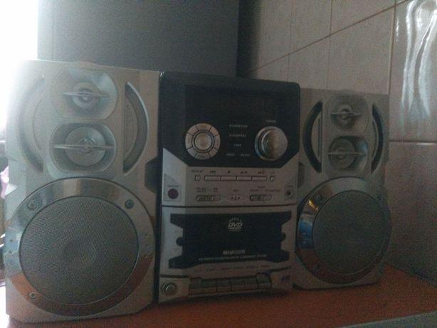 Аудиосистема dvd/cd магнитофон радио, колонки