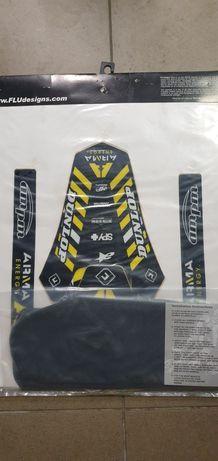 Yamaha yz  85 02-12 okleina z poszyciem siedzenia