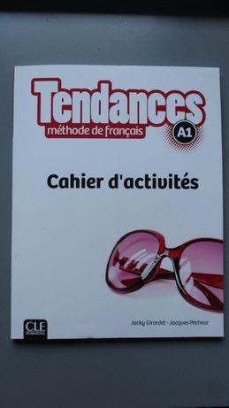Tendances A1 zeszyt ćwiczeń + klucz z odpowiedziami CLE International