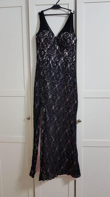 QUIZ koronkowa sukienka maxi r.40