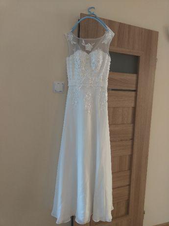 Lekka suknia ślubna rozmiar 36