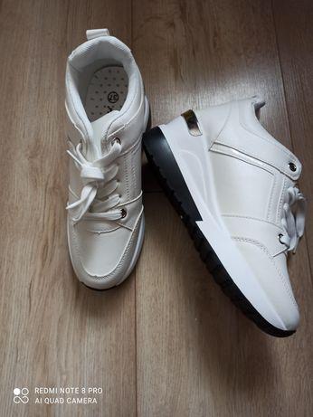 Sneakersy 37 biale