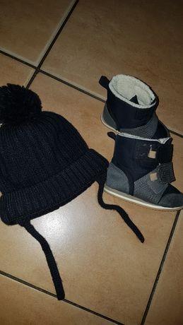 Buciki plus czapeczka