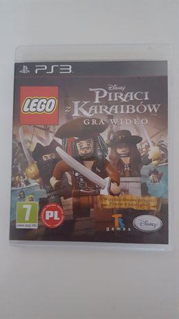 Oryginalna gra Lego Piraci z Karaibow PlayStation PS 3 PL