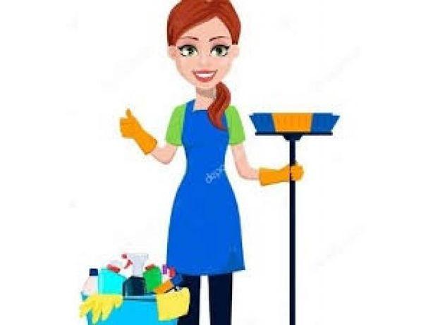 Oferece-se empregada para trabalhos domésticos