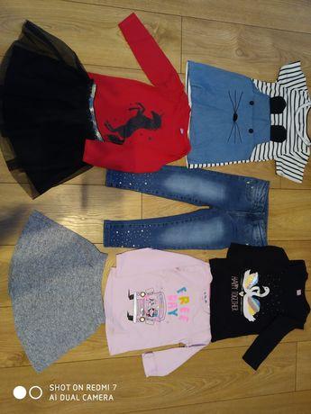 Ubranka, bluzki, spódnice, jeansy 104 dziewczynka