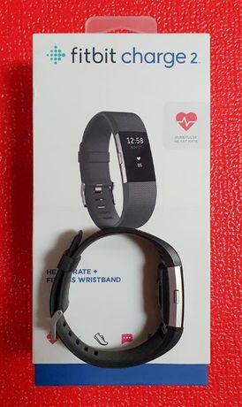Fitbit Charge 2 Opaska L Smartwach Smartband ładowarka pasek