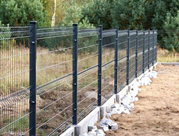 Panele ogrodzeniowe 1,5m + 25cm podmurówka ogrodzenie panelowe Węgrów