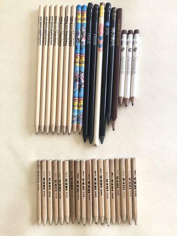 Lápis várias marcas / publicidade de coleção