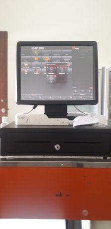 Caixa eletronico e impressora