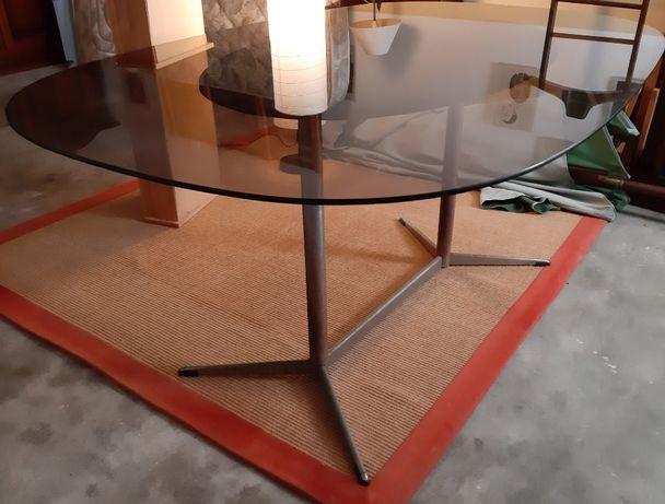 Mesa refeição - tampo vidro