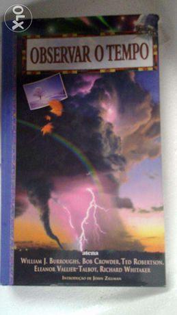 Livro Observar o tempo